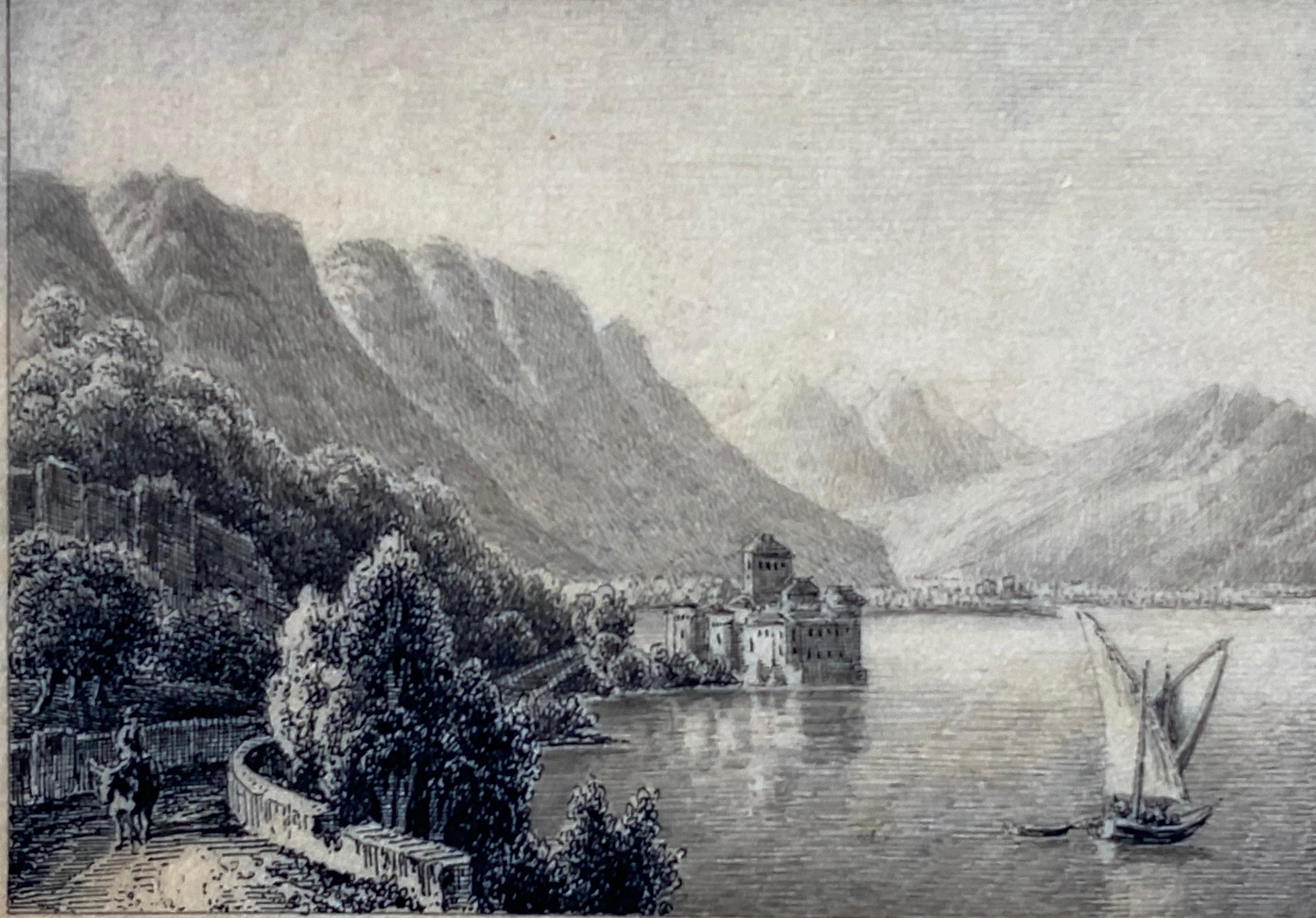 """""""Vue du Chateau de Chillon"""""""