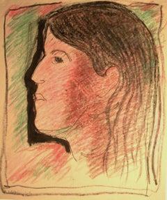 Woman Facing Left