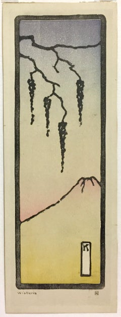 Wisteria (with Fuji, Japan)