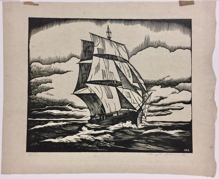 Whaler - Print by Henry R. Diamond
