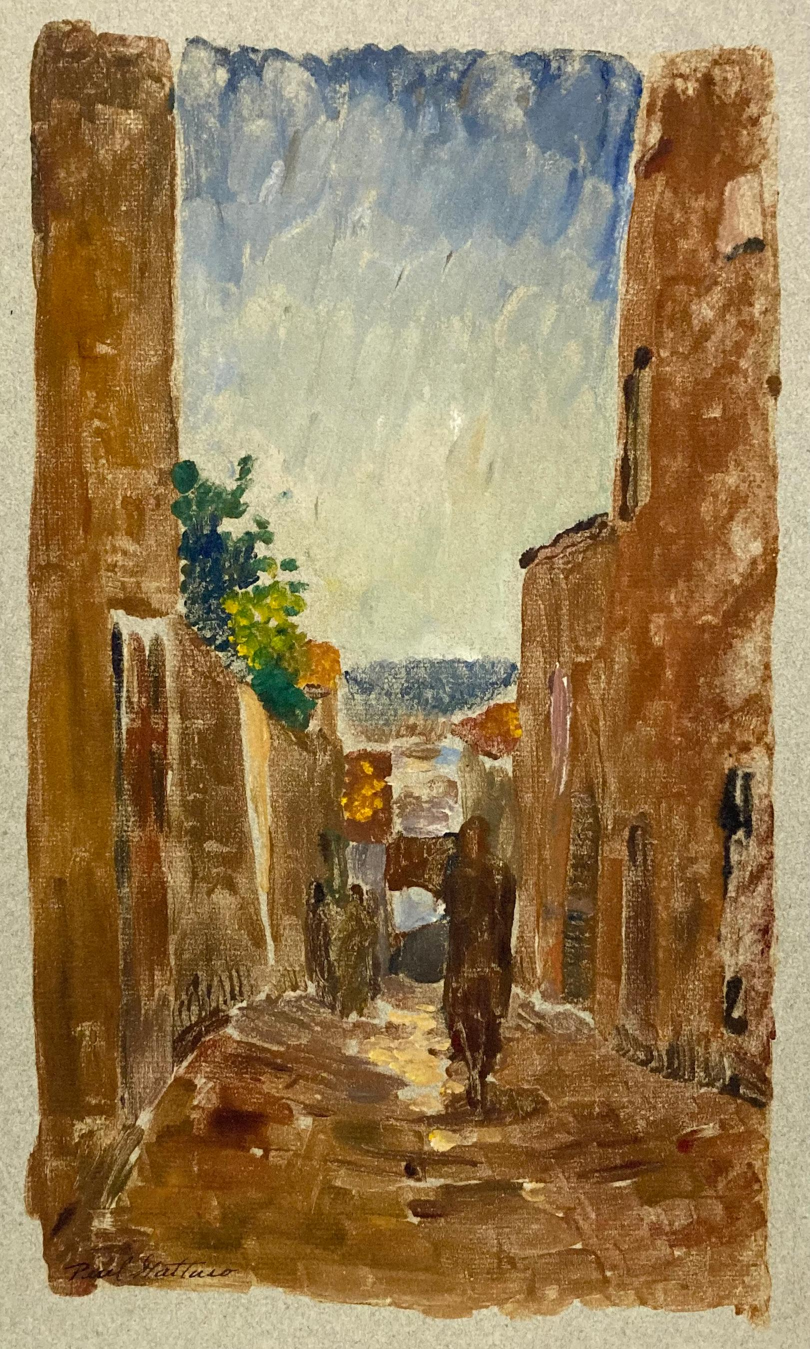 (Italian Street Scene)
