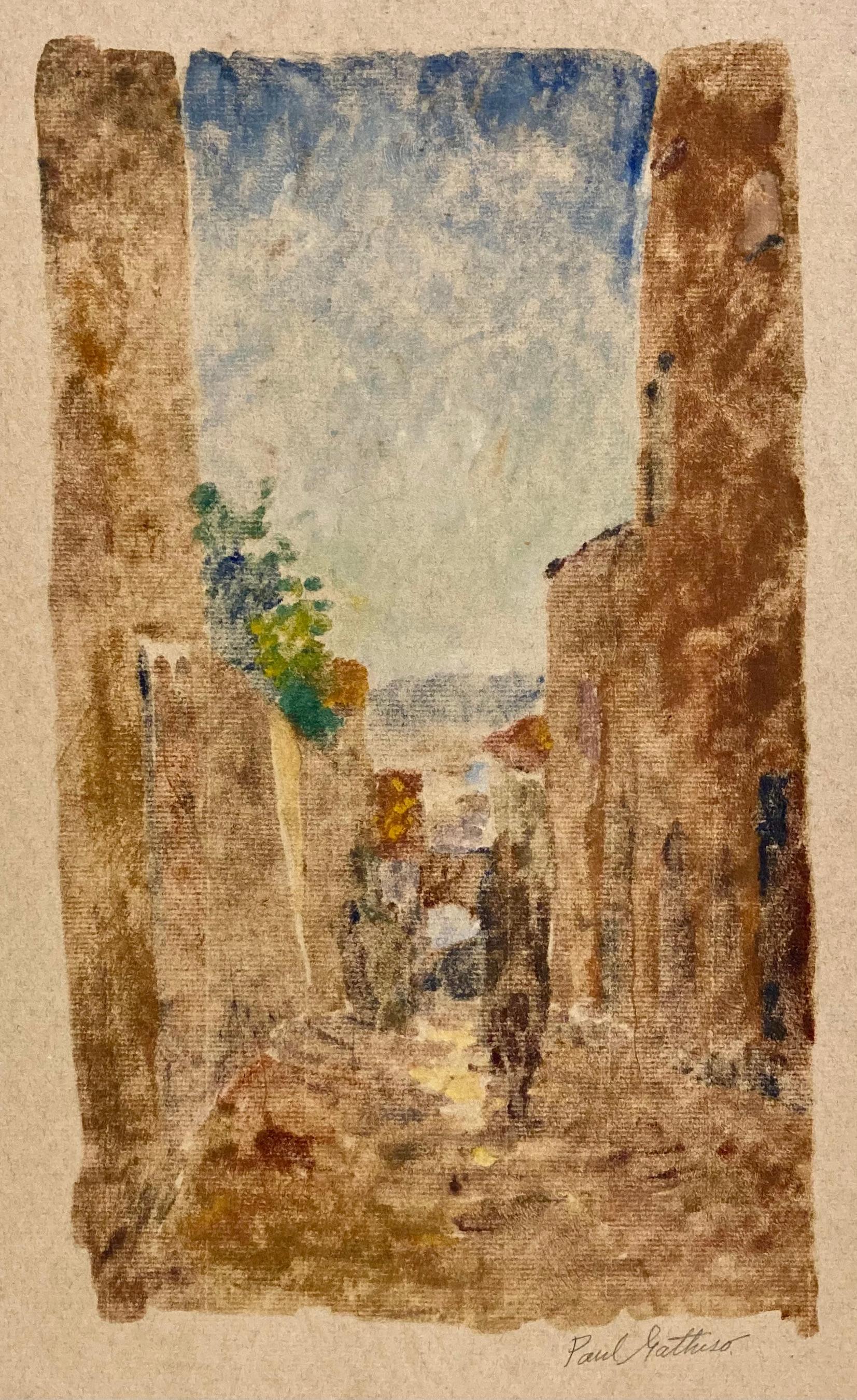 (Italian Street Scene - Light)