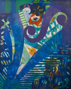 Tropic of Music - Eileen Agar, british, surrealist, female, modern, colors