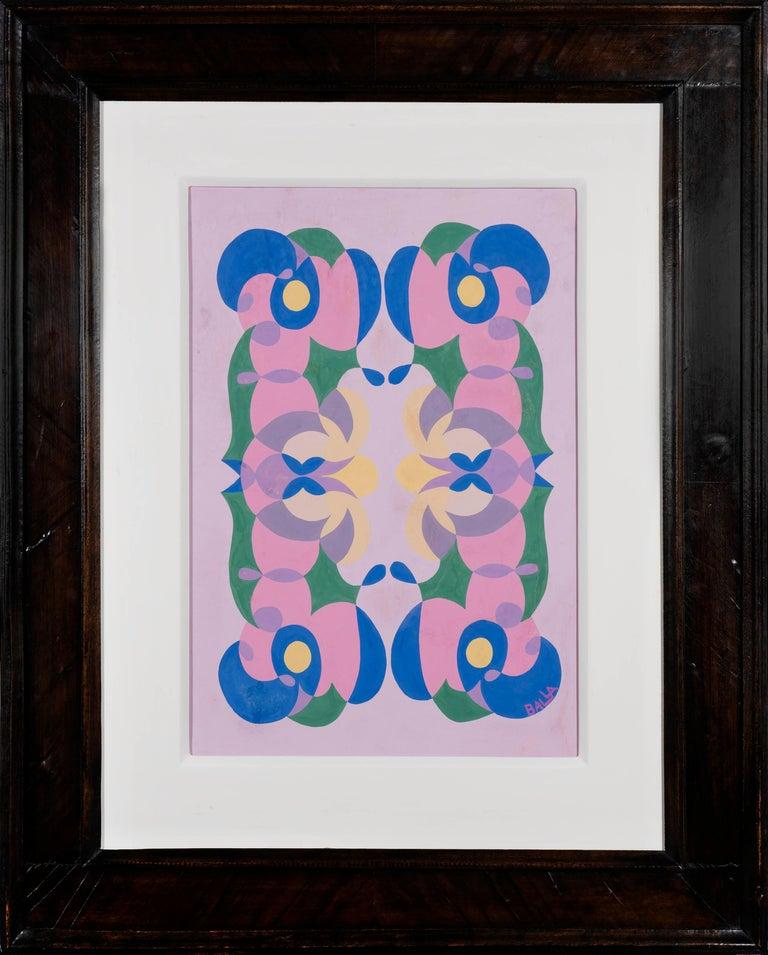 Linee andamentali - Giacomo Balla, futurist, modern, abstract, italian, colorful - Modern Art by Giacomo Balla