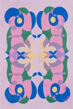 Linee andamentali - Giacomo Balla, futurist, modern, abstract, italian, colorful