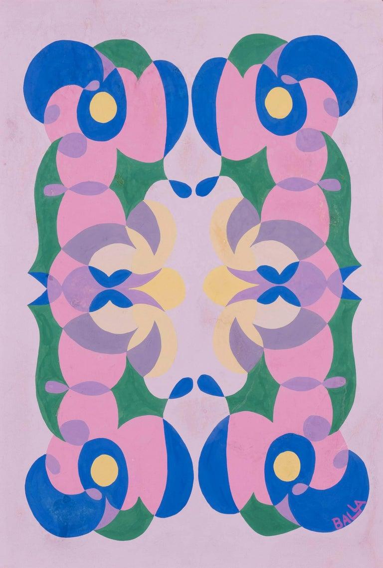 Linee andamentali - Giacomo Balla, futurist, modern, abstract, italian, colorful - Art by Giacomo Balla