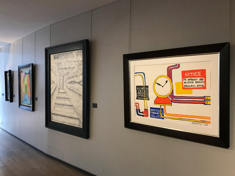 Plumbings II - Alexander Calder, modern, american, illustration, design For Sale 3