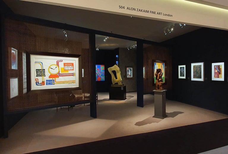 Plumbings II - Alexander Calder, modern, american, illustration, design For Sale 4