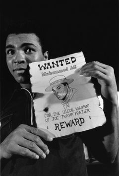 Most Wanted Man - Chris Smith, Muhammad Ali, Ali, black and white, 30x20 in