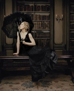 Lorenzo Agius - Madonna in the Library, madonna, colour, photography, 40x30 in
