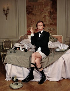 Lorenzo Agius - Billy Nighy, color, photography, actor, british, 60x48 in