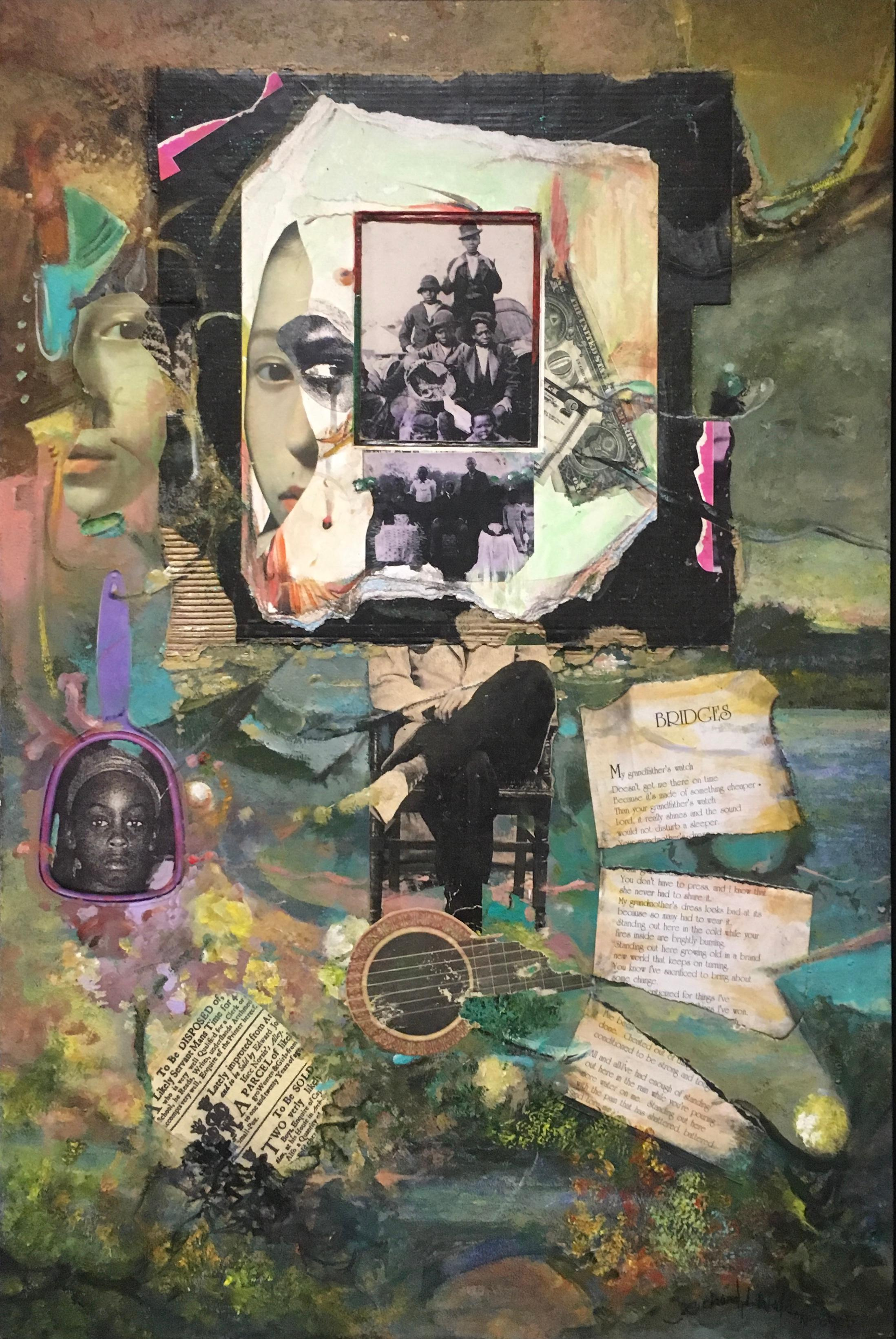 Grandfather's Watch: African American painting & collage, figures & photographs