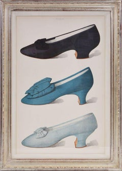 A Group of Six Ladies' Dress Shoes of the Nineteenth Century