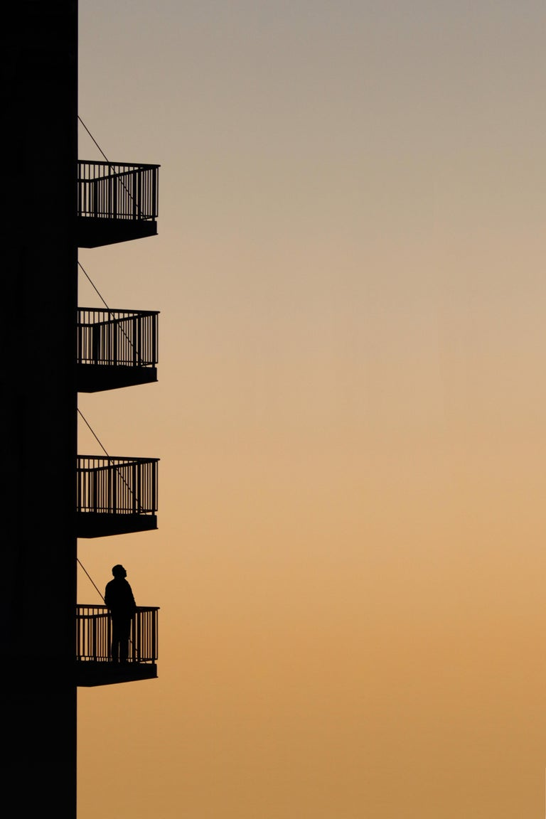 Sunset Mind - Beige Color Photograph by Marcus Cederberg