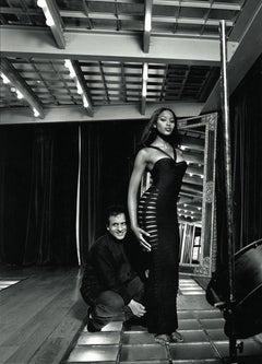 Azzedine and Naomi, Azzedine Alaia Studio 1994