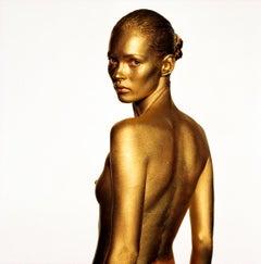 Nude KATE MOSS Golden 1993