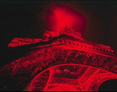 LIGHT BOX- RED EIFFEL TOWER 2004