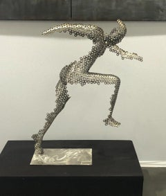 The Sprinter steel sculpture