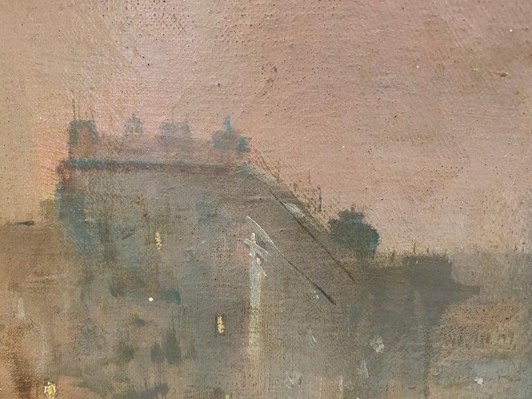 19th century French impressionistic Parisian cityscape 2