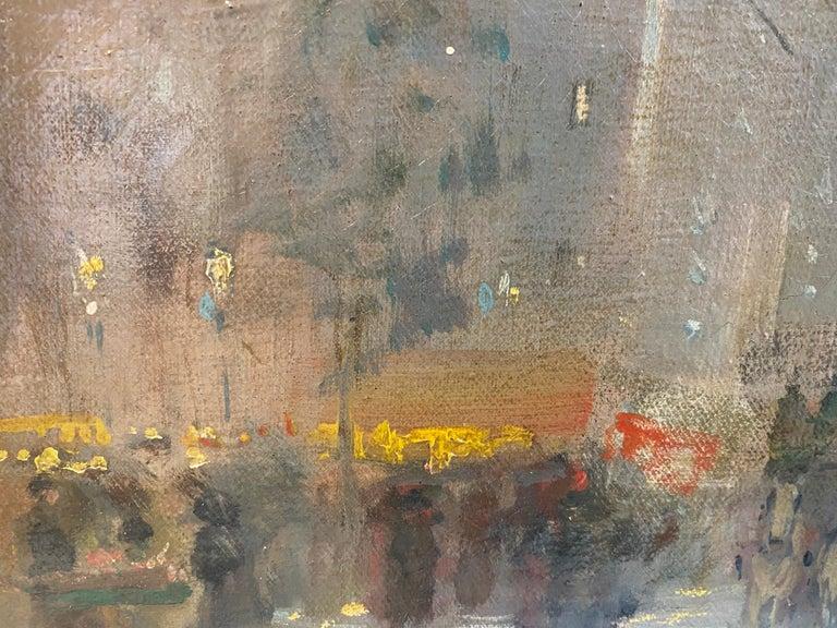 19th century French impressionistic Parisian cityscape 3