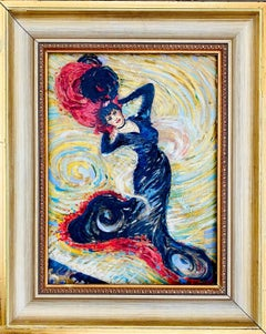 19th century French impressionist painting Danseuse Degas Dance Toulouse Lautrec