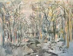 """""""Paisaje"""", 2015, Canvas, Oil Paint"""