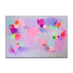 'Caught In A Daydream' Wrapped Canvas Original Abstract Painting by Samerra