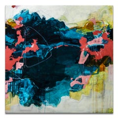 'Garden Waters' Wrapped Canvas Original Abstract Painting by Tammy Staab