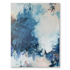 'Flowing I' Original Wrapped Canvas Abstract Painting by Tammy Staab
