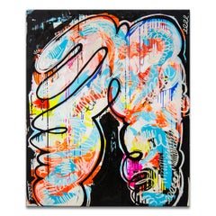 'Love Your Body' Wrapped Canvas Original Painting by Alejandra Linares