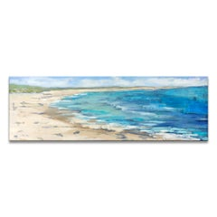 'Coastline' Wrapped Canvas Original Seascape Painting by Dana McMillan