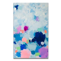 'Dreams Coming True' Wrapped Canvas Original Abstract Painting by Samerra