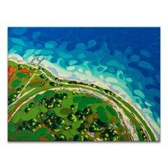 'Peanut Island' Wrapped Canvas Original Coastal Painting by Sarah LaPierre