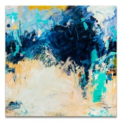 'Cruising' Wrapped Canvas Original Abstract Painting by Tammy Staab