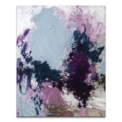 'Vineyard Vibe' Wrapped Canvas Original Abstract Painting by Tammy Staab
