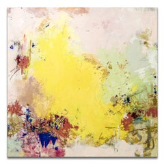 'Summer View' Wrapped Canvas Original Abstract Painting by Tammy Staab