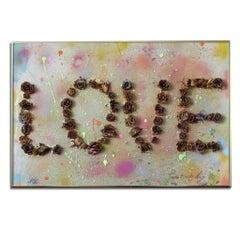 'Love 1.5' Framed Original Pop Artwork by Arianna Tascione