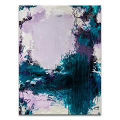 'Falls of En Gedi' Wrapped Canvas Original Abstract Painting by Tammy Staab