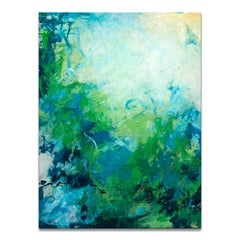 'Under the Sea' Wrapped Canvas Original Abstract Painting by Tammy Staab