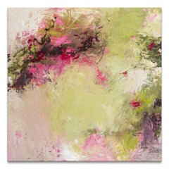 'Walk Through the Garden' Original Canvas Abstract Painting by Tammy Staab