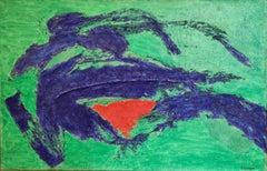 L'Origine du Monde, Abstract Expressionist, Hommage to Gustav Courbet.