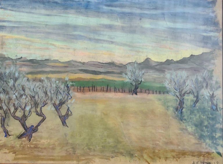 Pair of watercolours. Possibly Views From The Santa Fe Railroad For Sale 4