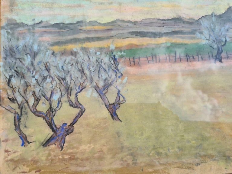 Pair of watercolours. Possibly Views From The Santa Fe Railroad For Sale 6