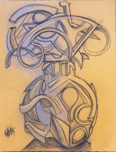 Mid-century Abstract Design for a Sculpture.