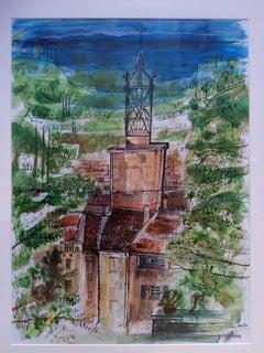 Campanile, Cotignac, Provence