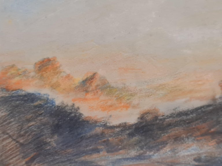 Sunset on the Alps For Sale 1