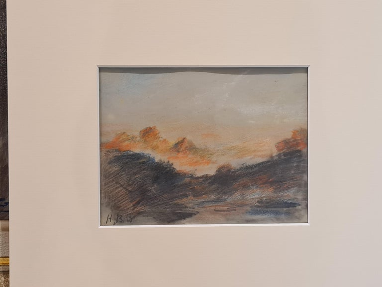 Sunset on the Alps For Sale 4