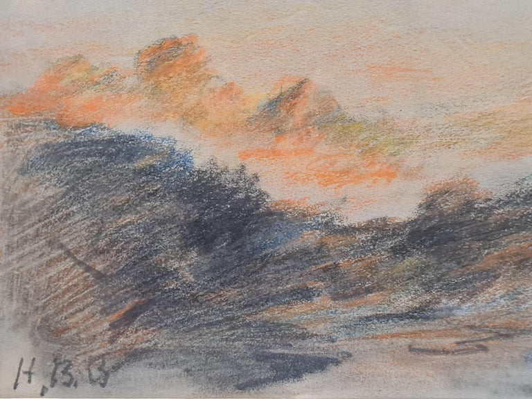 Sunset on the Alps For Sale 3