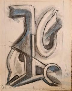 Design for an Abstract Sculpture, Vence, Cote d'Azur.