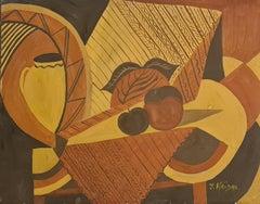 Orphic Cubist Tablescape